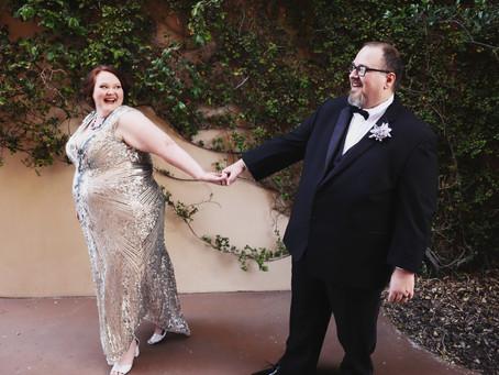 Las Vegas Bootlegger's Copa Room Wedding | Pamela & Jason: Italian Food & Dr. Who