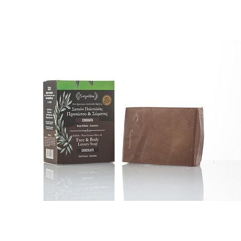 Natur sæbe med Chokolade