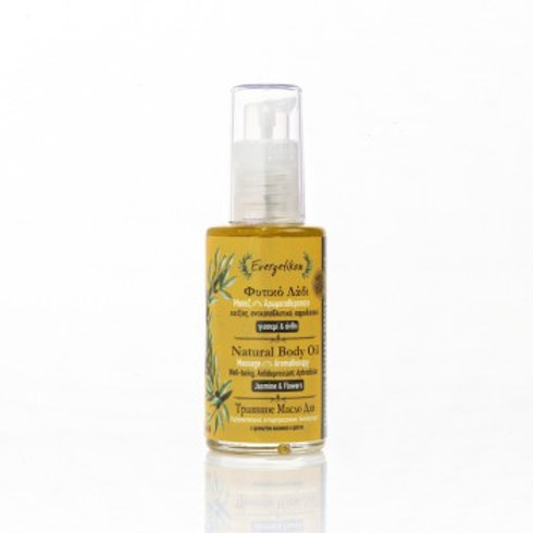 Natural Body oil - Jasmin & blomster