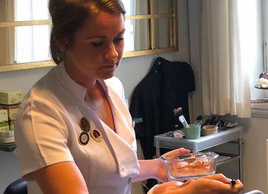 kosmetolog Mia Blaabjerg Haahr