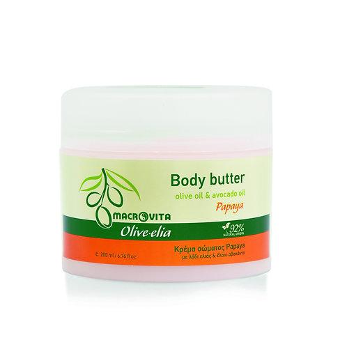 Olive-elia Body Butter - Papaya