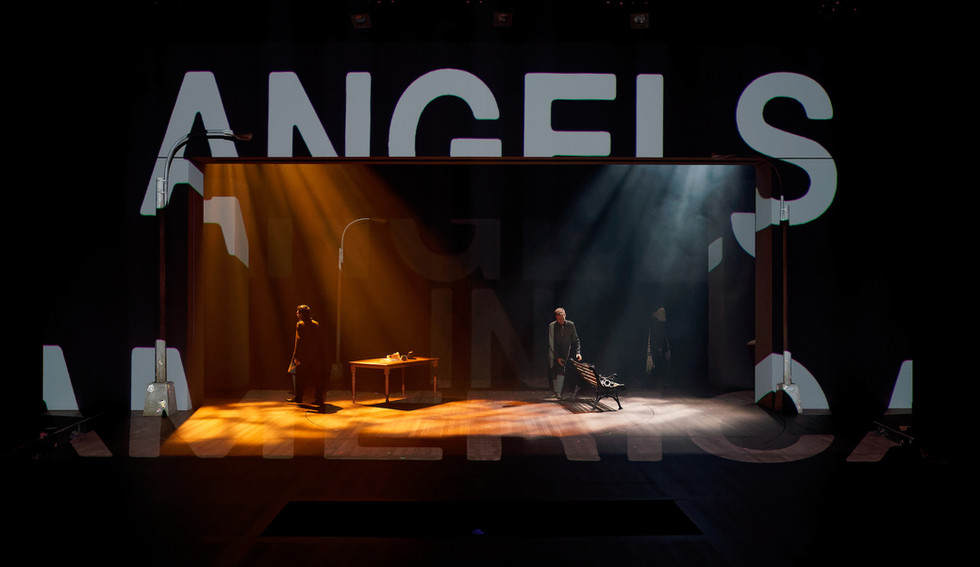 ANGELS IN AMERICA PT. I & II   ASSISTANT VIDEO DESIGN