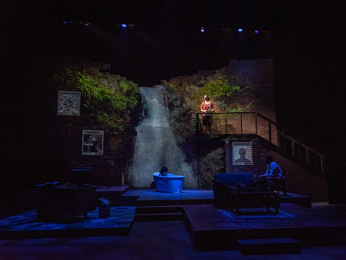 WATER BY THE SPOONFUL | PROJECTION DESIGN