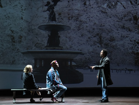 ANGELS IN AMERICA PT. I&II | ASSISTANT PROJECTION DESIGN