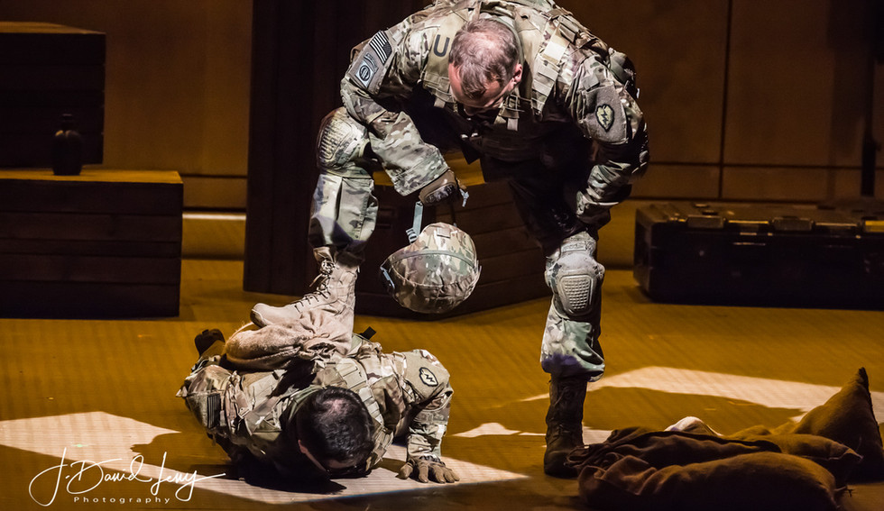 AN AMERICAN SOLDIER | ASSISTANT LIGHTING DESIGN