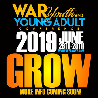 War Youth Conference 2019!!