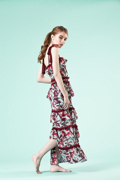 Simone Violet Dress