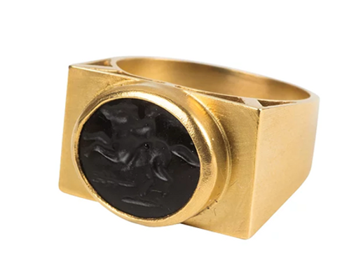 Monapetra Intaglio Ring