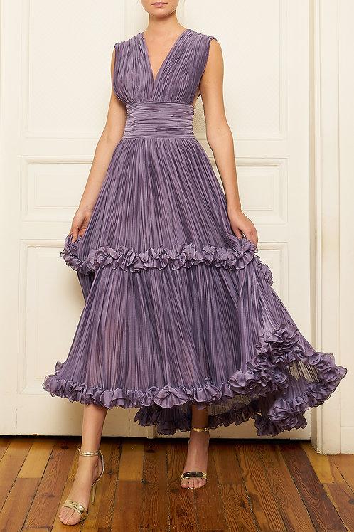 MugeM Pleated Dress