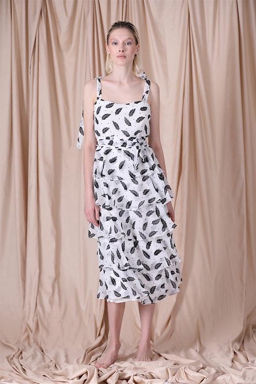 Simone Diana Dress Black & White