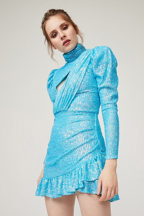 Gira Blue Dress