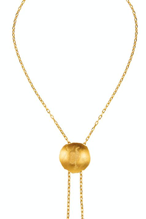 Monapetra Stork Necklace