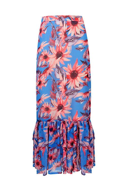 Simone Dole Blue Skirt