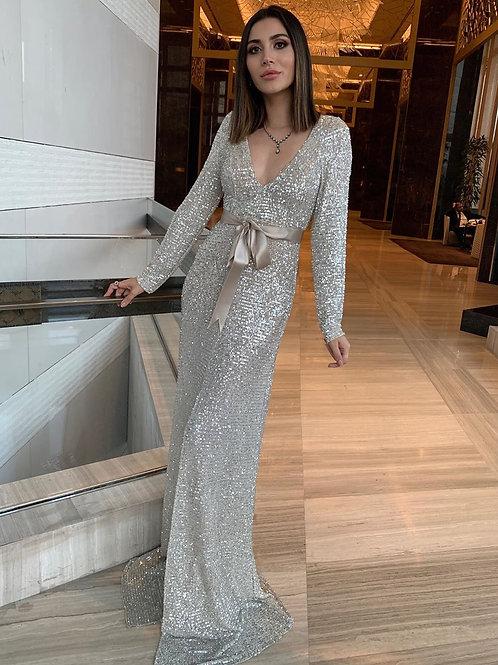 Ihandmore Champagne Shine Dress