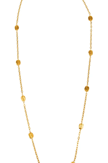 Monapetra Long Seed Necklace
