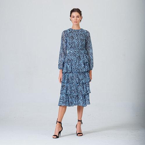 Simone Diana Dress Blue