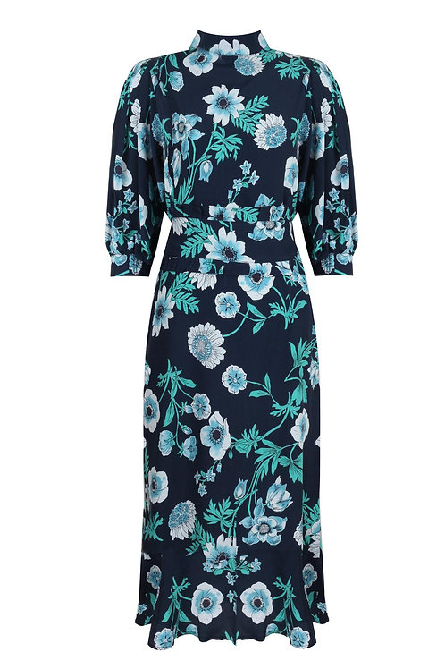 City Pearl Floral Dress Blue