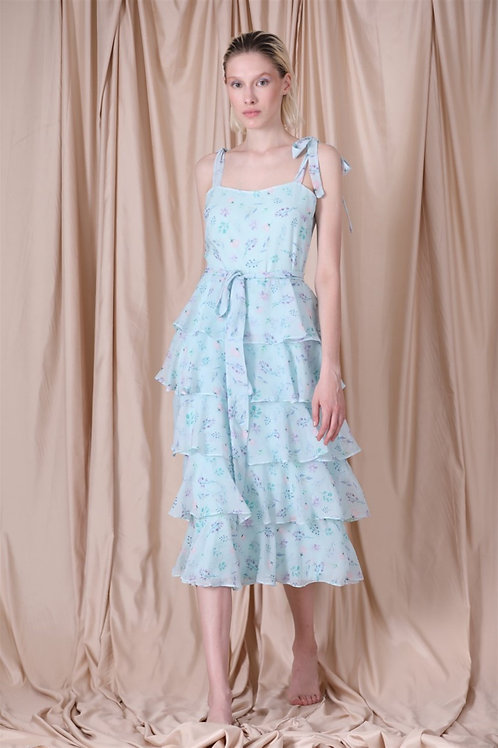 Simone Diana Dress Mint