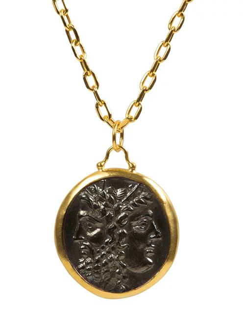 Monapetra Large Size Single Medallion