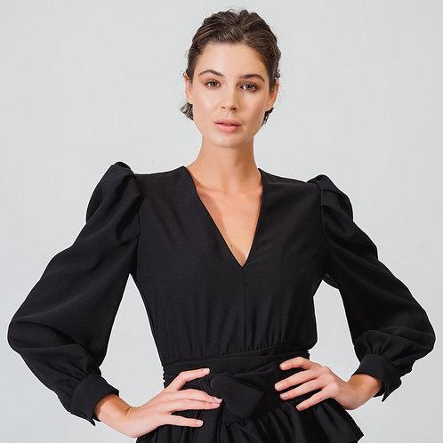 Simone Rosie Dress V-Neck