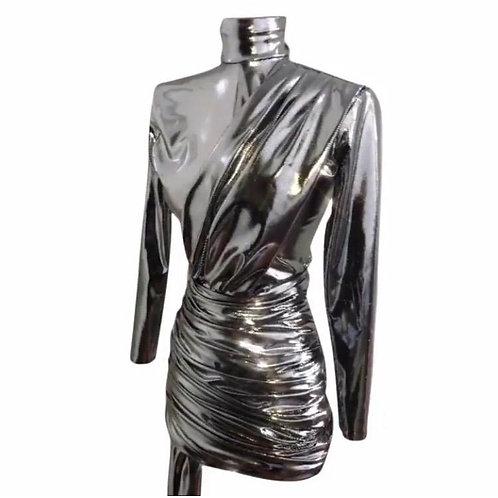 Gira Silver Dress