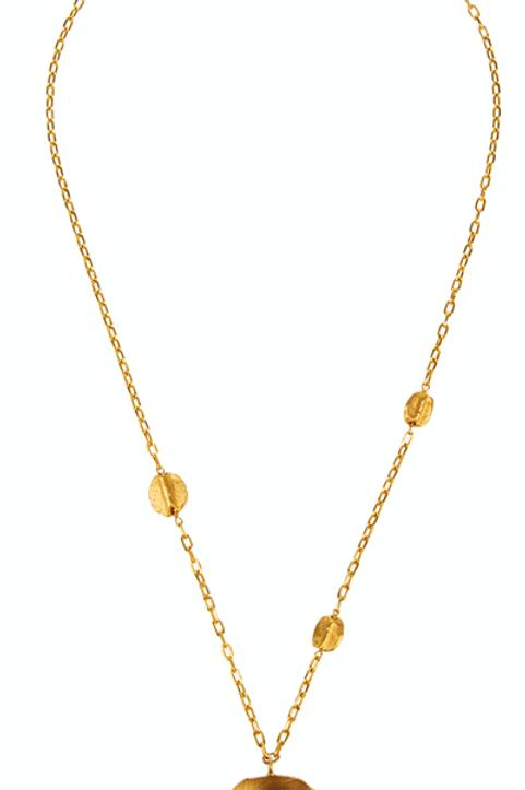 Monapetra Deer Necklace