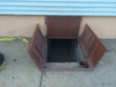 Cellar Basement Door