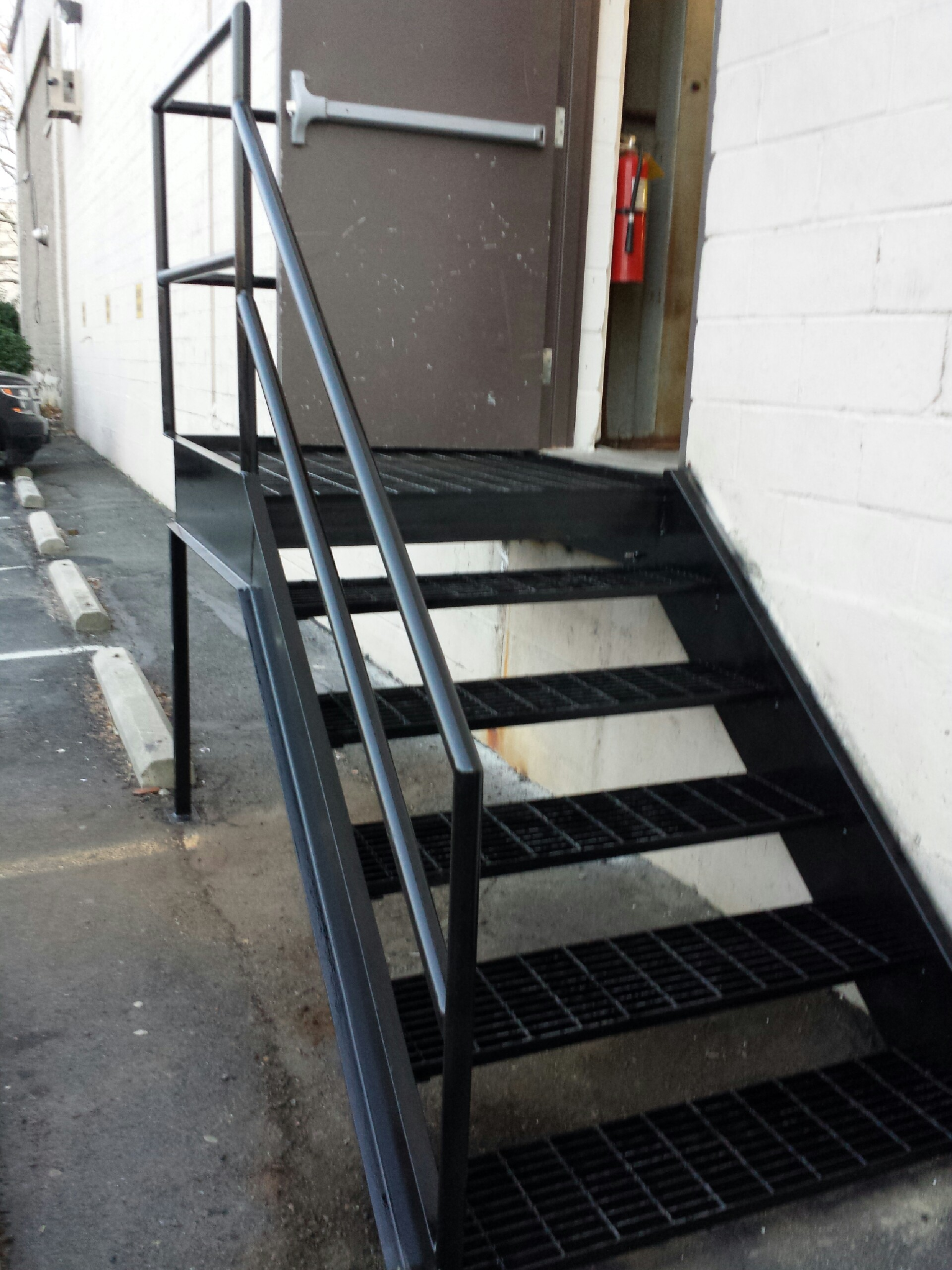 Complete new Steel staircase