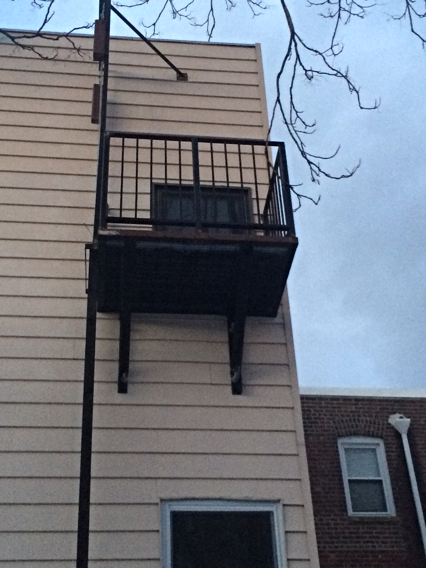 Small Fire Escape