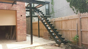 Steel Staircase and platform