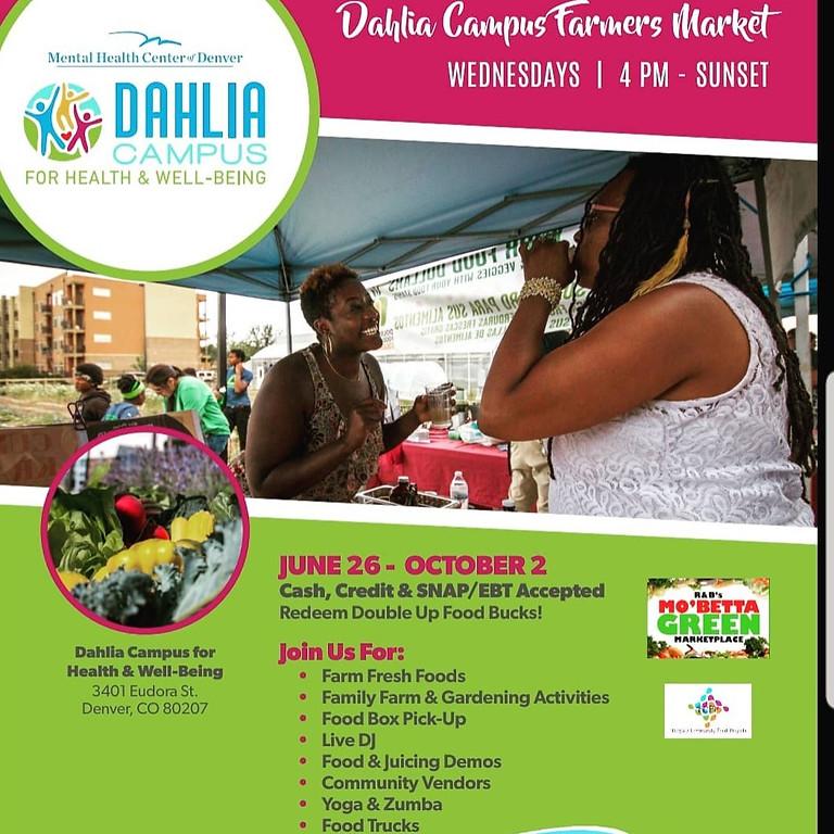 Dahlia Campus Farmers Market