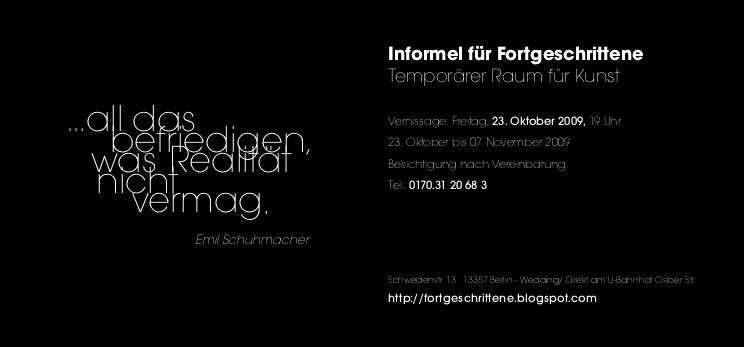 INFORMEL FÜR FORTGESCHRITTENE