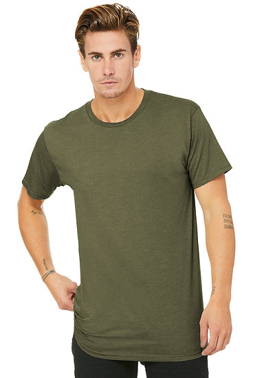 Bella + Canvas Men's Long Body Urban Tee