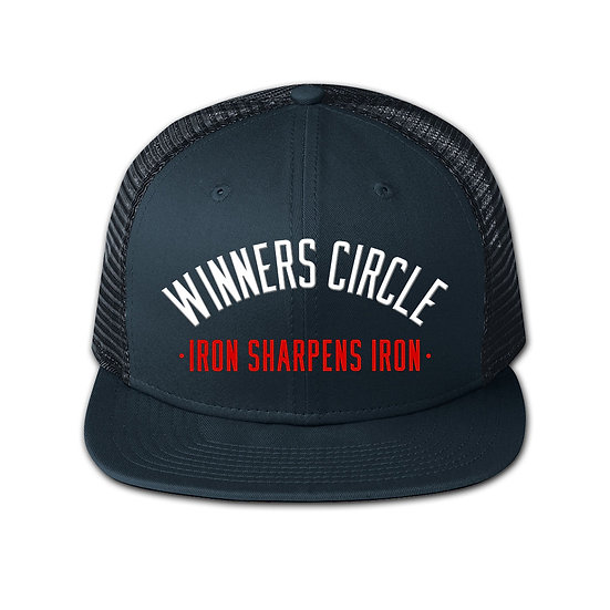 Winners Circle Arched Snap-Back Hat