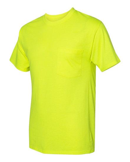 Hanes Workwear Short Sleeve Pocket T-Shirt