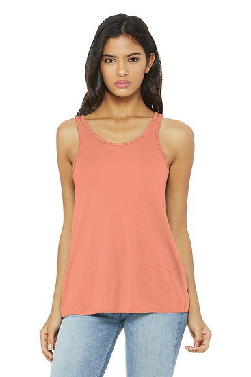 Bella + Canvas Woman's Flowy Racerback Tank