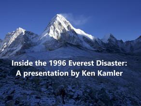 Inside the 1996 Everest Disaster: Ken Kamler