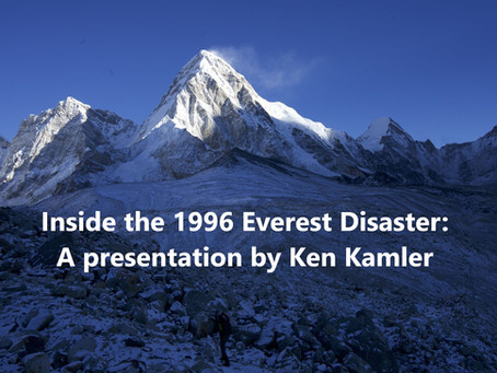 Inside the 1996 Everest Disaster: Ken Kamler