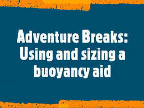 Using and sizing a buoyancy aid