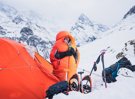 5 tips for Sleeping Warm Outdoors        by Ross Bowyer