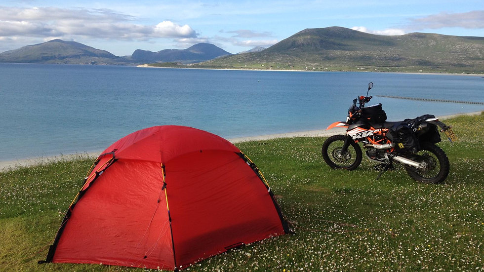 Deposit: Wild Camping for Beginners, Scotland