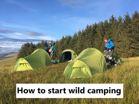 How to start wild camping