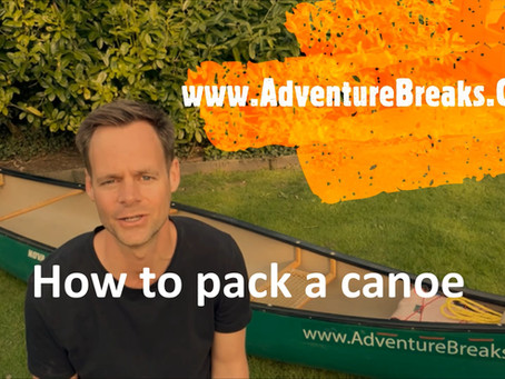 How to pack a canoe
