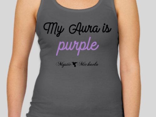 """My Aura is purple"" Shirt"