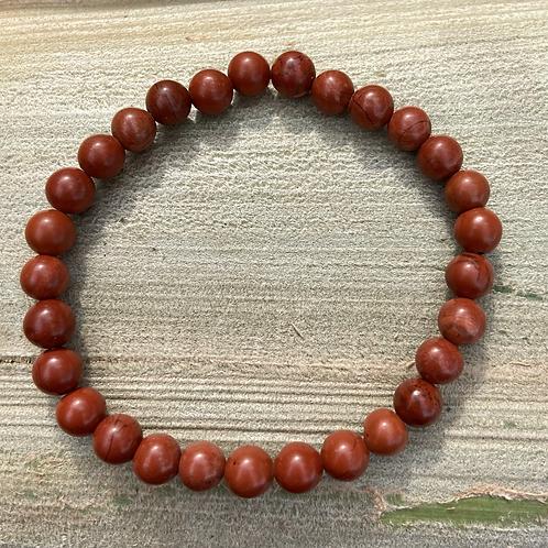 Red Jasper 6mm Women's Bracelet
