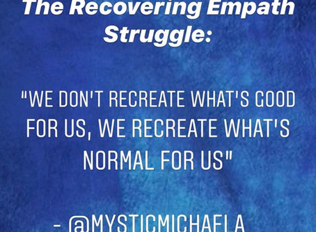 The Recovering Empath - notes