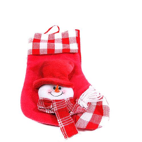 Christmas Hanging Sock Snowman Big