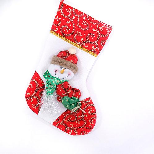 Christmas Hanging Sock Snowman