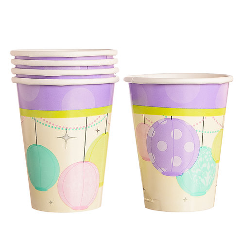 Chic Bride Paper Party Cups ( 8 Pack)