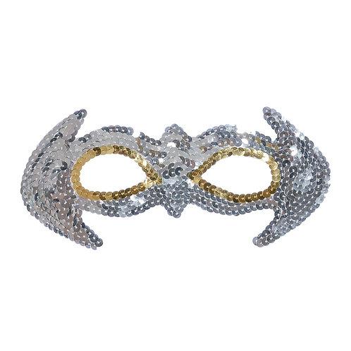Prom Glittery Mask